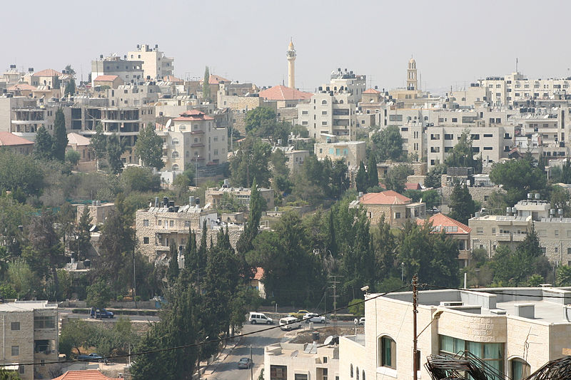 A street in Ramallah (pictured) was named after a Palestinian terrorist who recently killed two Israelis. Credit: Wikimedia Commons.