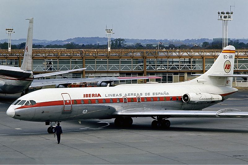 An Iberia Airlines plane. Credit: Steve Fitzgerald via Wikimedia Commons.