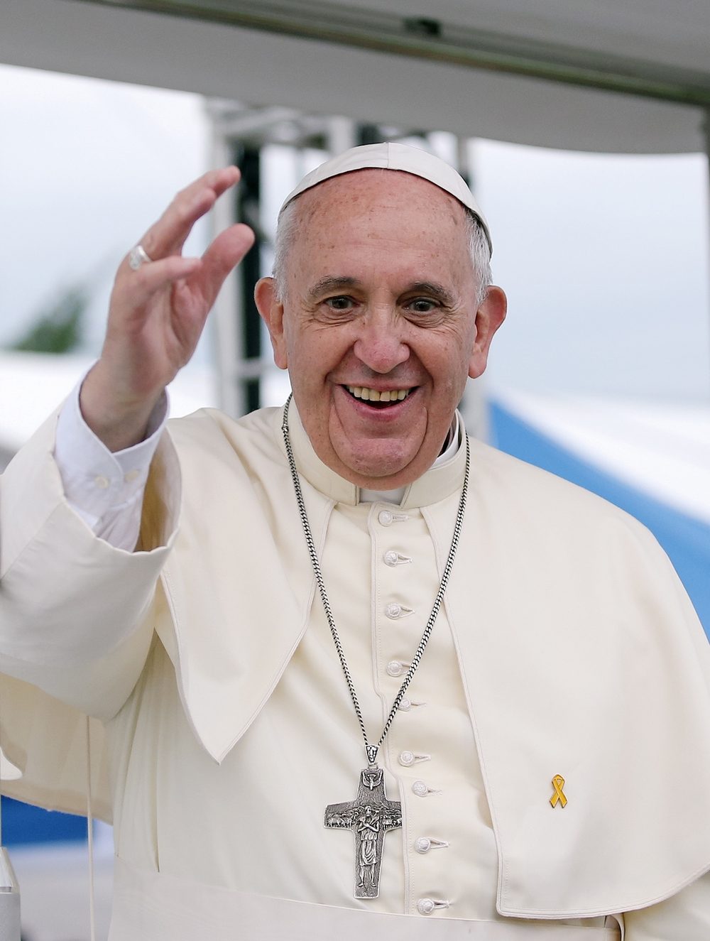 Pope Francis. Credit: Wikimedia Commons.