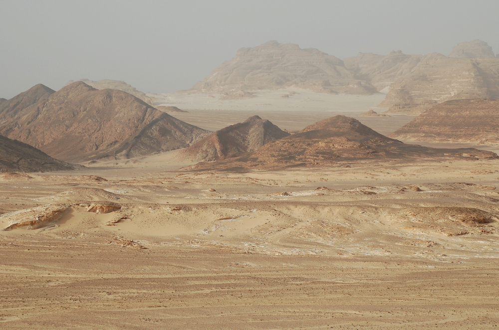 The Sinai desert. Credit: Wikimedia Commons.
