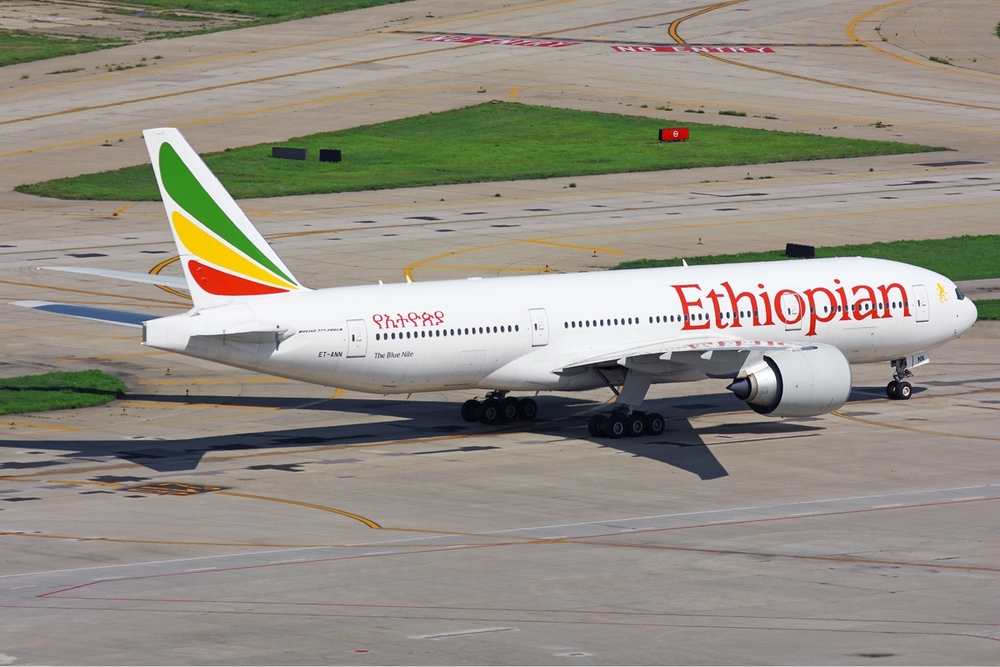 An Ethiopian Airlines plane. Credit: Wikimedia Commons.