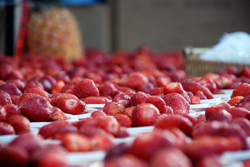 Israeli produce. Credit: PikiWiki Israel.