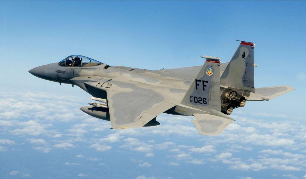 An F-15 Eagle jet. Credit: U.S. Air Force photo/Staff Sgt. Samuel Rogers.