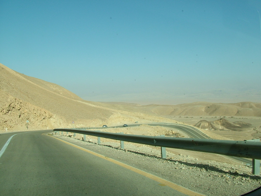 Highway 60 in Israel. Credit: Wikimedia Commons.