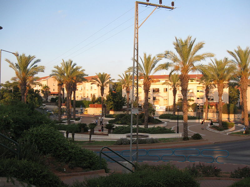 The city of Ariel in Judea and Samaria. Credit: Wikimedia Commons.