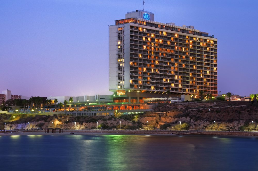 Click photo to download. Caption: The Tel Aviv Hilton. Credit: Courtesy Hilton.