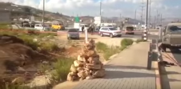 Tapuach Junction in Samaria. Credit: YouTube.