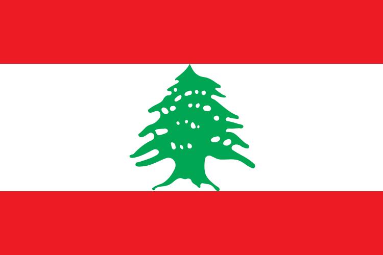The flag of Lebanon. Credit: Wikimedia Commons.