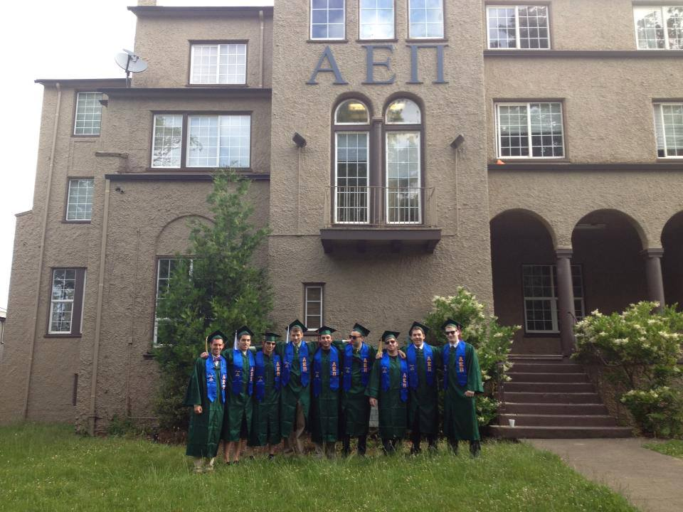 The AEPi house at the University of Oregon. Credit: Facebook.