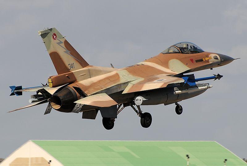 An Israeli Air Force F-16C Barak plane. Credit: Wikimedia Commons.