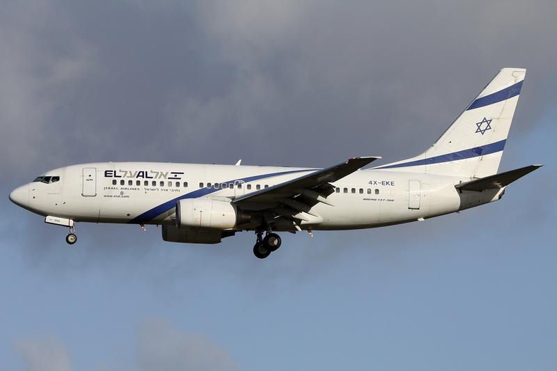 An Israeli El Al Airlines plane. Credit: Andre Wadman via Wikimedia Commons.