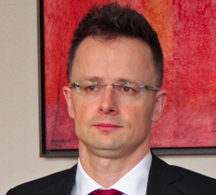 Hungarian Foreign Minister Péter Szijjártó. Credit: Wikimedia Commons.