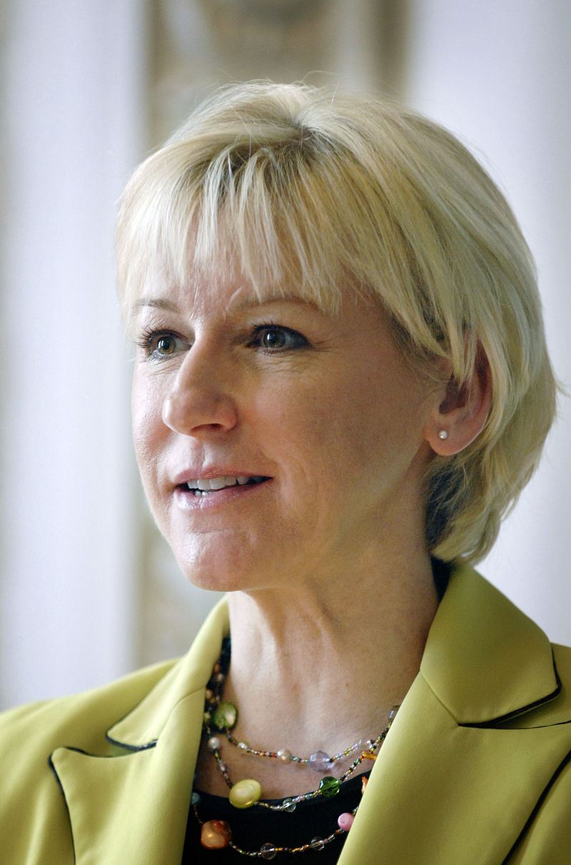 Swedish Foreign Minister Margot Wallström. Credit: Johannes Jansson/norden.org.