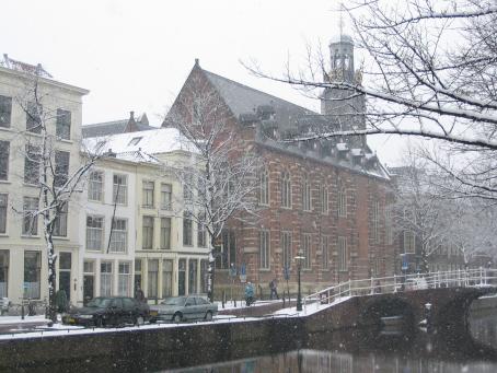 Leiden University. Credit: Wikimedia Commons.