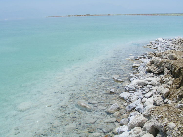 The Dead Sea in Israel. Credit: Wikimedia Commons.