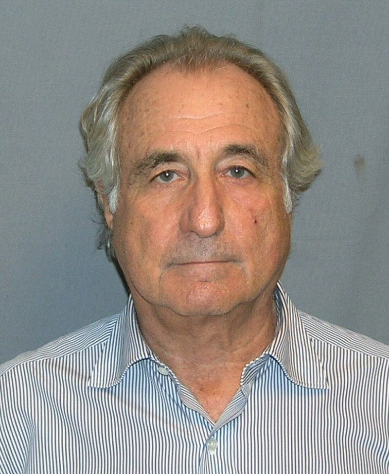 Bernie Madoff. Credit: U.S. Department of Justice.