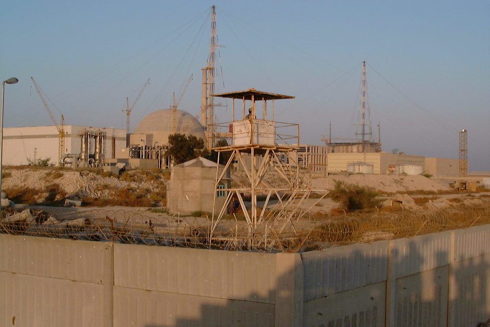 Iran's Bushehr nuclear power plant. Credit: Wikimedia Commons.