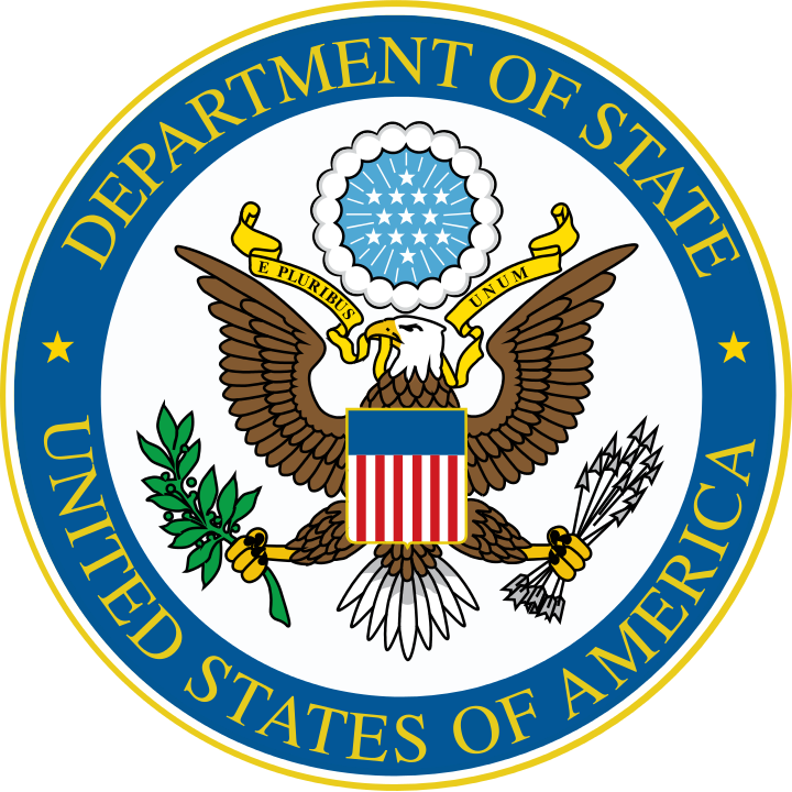 U.S. State Department logo. Credit: U.S. State Department.