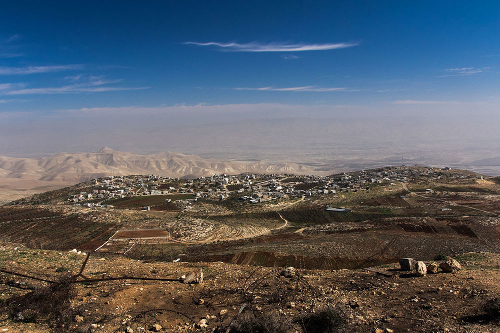 The Palestinian village of Duma. Credit: Wikimedia Commons.