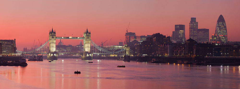A view of London. Credit: Wikimedia Commons.