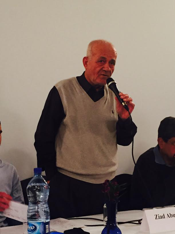 Ziad AbuZayyad, co-editor and founder of the Palestine-Israel Journal.