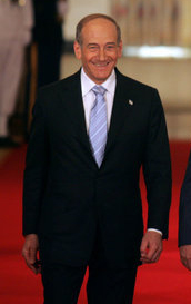 Ehud Olmert. Credit: Wikimedia Commons.