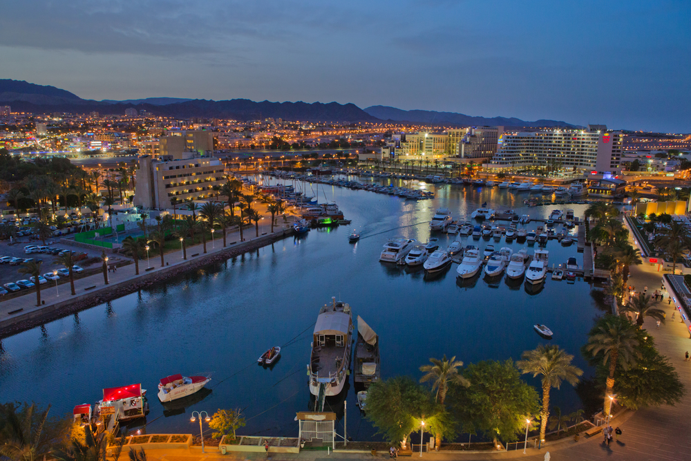 Eilat. Credit: Israel Tourism via Wikimedia Commons.
