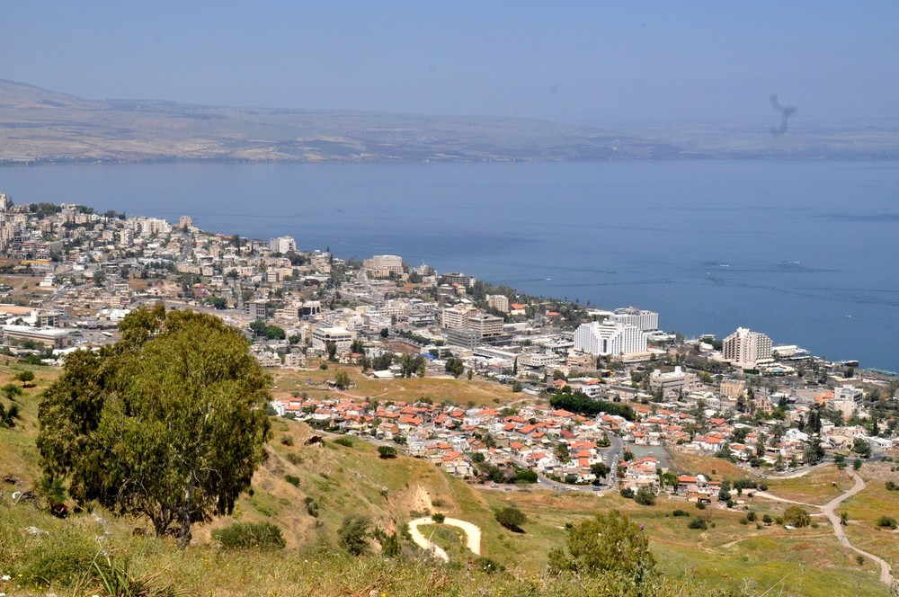 Israel's new Druze town will be established near Tiberias (pictured). Credit: PikiWiki Israel.
