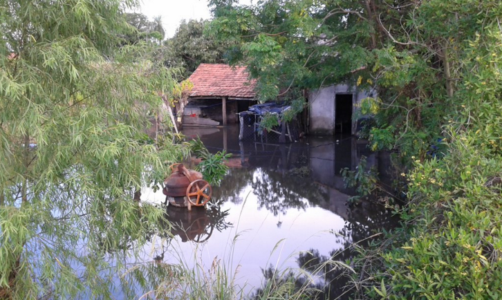 Flooding in Paraguay. Credit: USAID via Twitter.