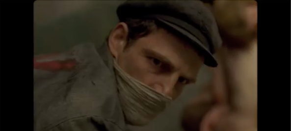 "Hungarian Holocaust film ""Son of Saul"" won the Foreign Language Film Golden Globe award on Sunday. Credit: Screenshot from the ""Son of Saul"" trailer."
