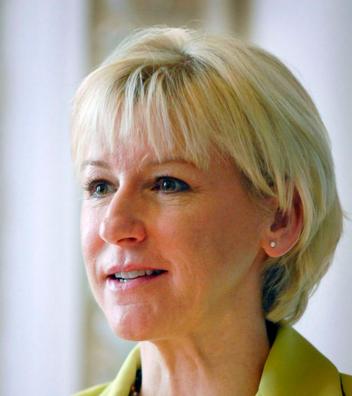 Swedish Foreign Minister Margot Wallstrom. Credit: Johannes Jansson/norden.org.