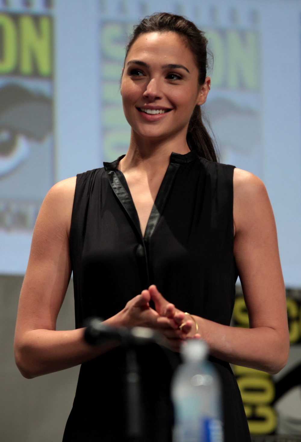 Israeli actress Gal Gadot, who plays Wonder Woman in an upcoming film about the super-heroine. Credit: Wikimedia Commons.