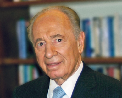 Shimon Peres. Credit: Wikimedia Commons.