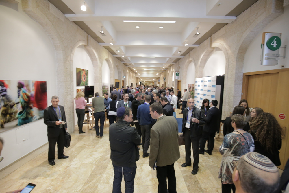 Click photo to download. Caption: The scene at the OurCrowd Global Investor Summit in Jerusalem. Credit: Courtesy OurCrowd.