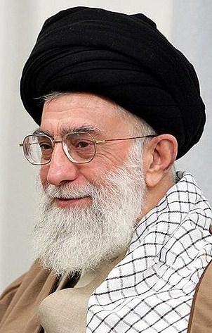 Iran's Supreme Leader Ayatollah Ali Khamenei. Credit: Wikimedia Commons.