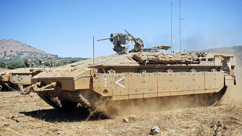 An Israeli Namer armored troop carrier. Credit: Israel Defense Forces.