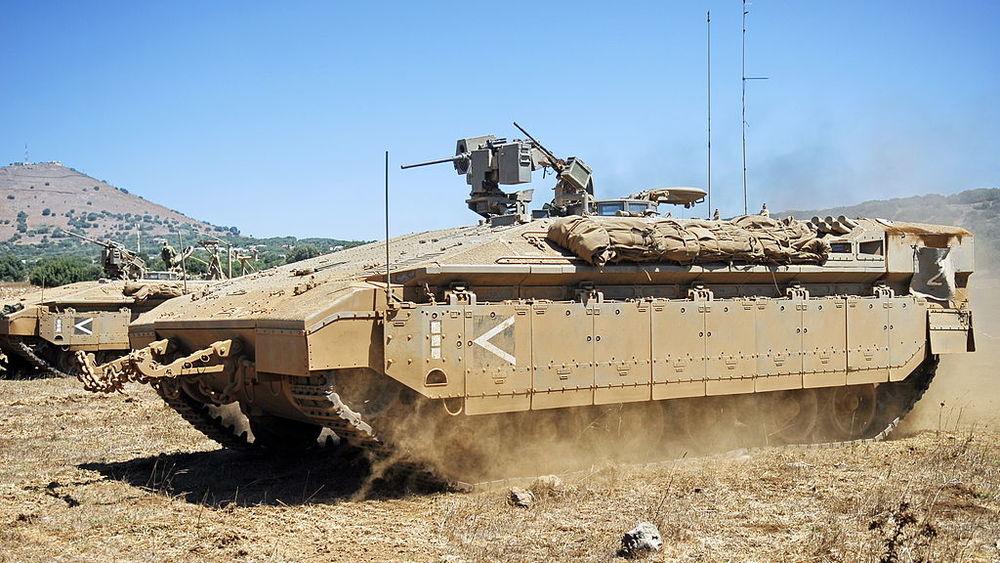 An Israeli Namer armored troop carrier. Credit: Israel Defense Forces.