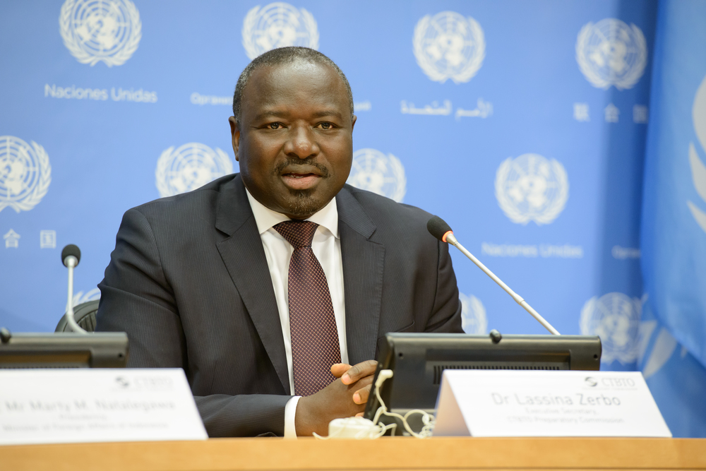 Lassina Zerbo, the head of the Comprehensive Nuclear Test Ban Treaty (CTBT). Credit: CTBT via Wikimedia Commons.
