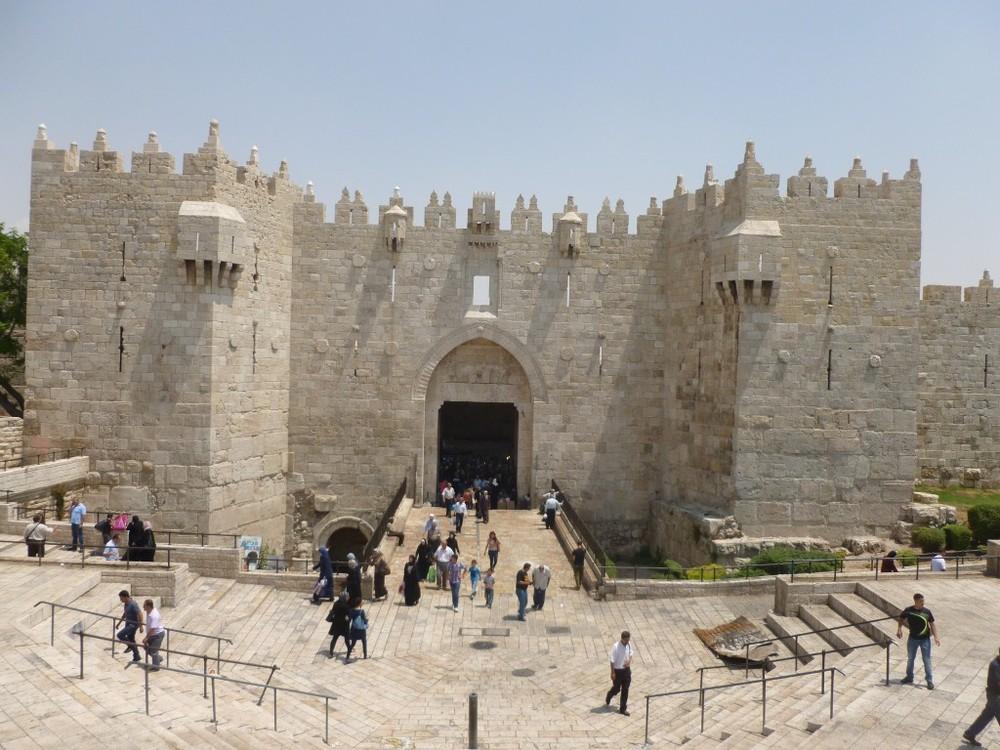Jerusalem's Damascus Gate. Credit: Wikimedia Commons.