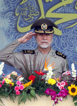 Maj. Gen. Ataollah Salehi, commander-in-chief of the Iranian Army. Credit: Reza Dehshiri via Wikimedia Commons.