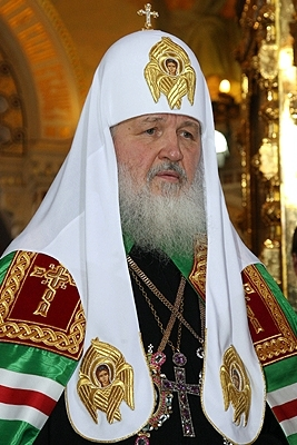 Patriarch Kirill of Moscow. Credit: Wikimedia Commons.
