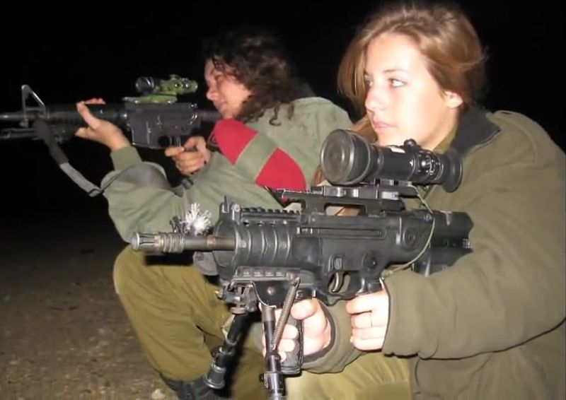 IDF soldiers at night. Credit: Wikimedia Commons.