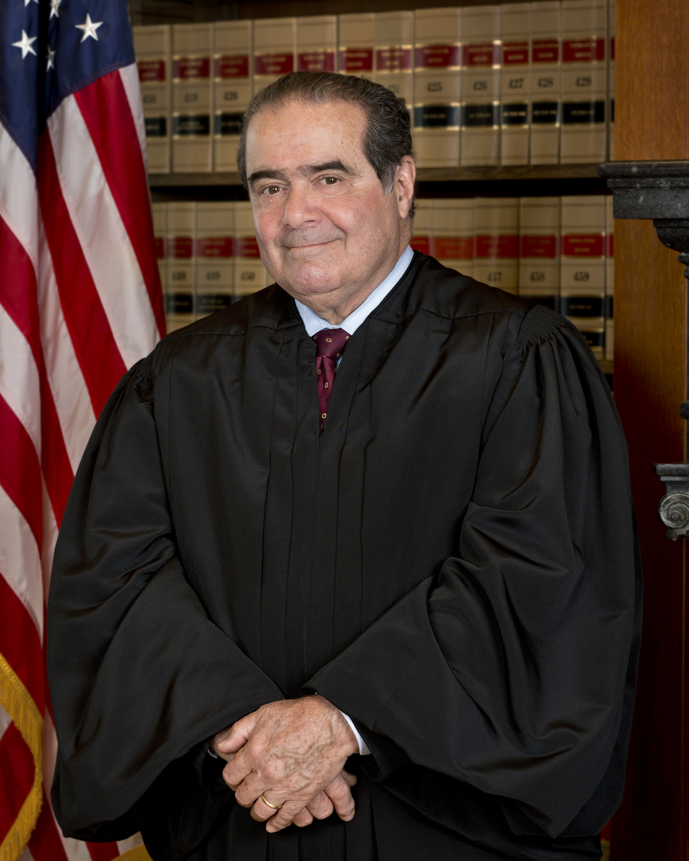 Supreme Court Justice Antonin Scalia died on Saturday. Credit: Wikimedia Commons.