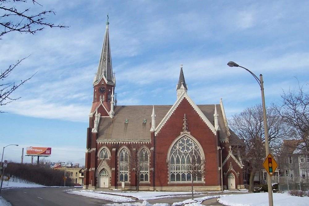 The Saint Stephen Evangelical Lutheran Church of Milwaukee. Credit: Wikimedia Commons.