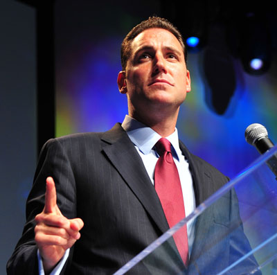 Erick Stakelbeck (pictured) will host the new U.S.-Israel news show on TBN.