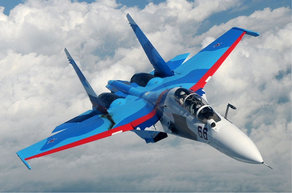 Russia's Sukhoi Su-30 aircraft, which will reportedly be delivered to Iran. Credit: Sergey Krivchikov via Wikimedia Commons.