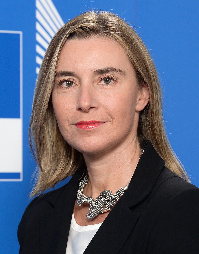 The EU's Federica Mogherini. Credit: European Union.