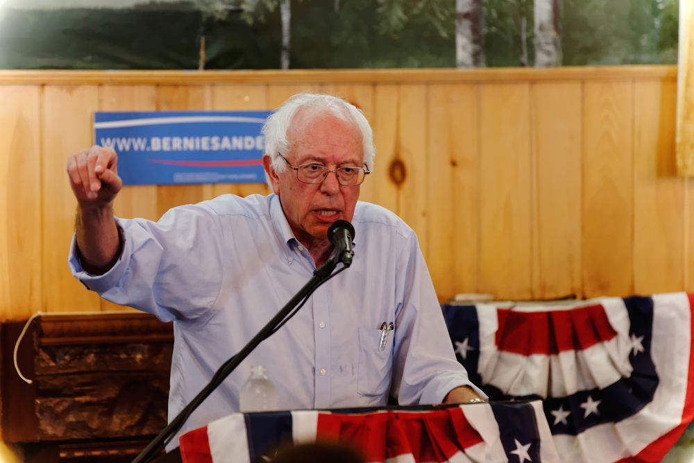 Click photo to download. Caption: Sen. Bernie Sanders. Credit: Michael Vadon via Wikimedia Commons.