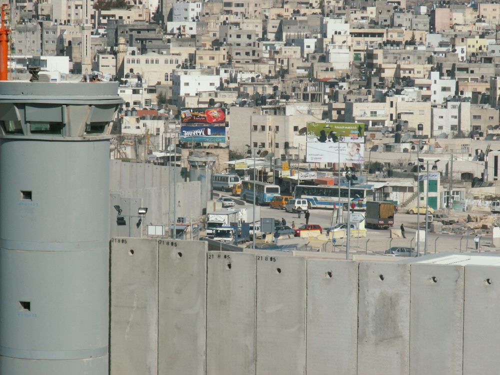 The Qalandiya refugee camp. Credit: Christian Sterzing via Wikimedia Commons.