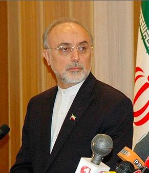 Iranian nuclear chief Ali Akbar Salehi. Credit: Wikimedia Commons.